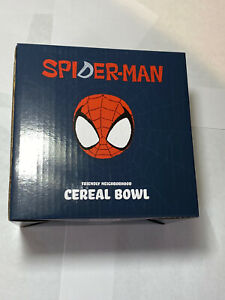 Lootcrate Spiderman Cereal Bowl Exclusive Guru Hiru New In Box
