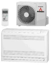 Split-Klimaanlage-Set Hyper-Inverter Mitsubishi SRF25ZMX-S Truhe 2,5/3,4kW A++
