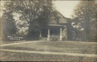 Oberlin OH Maple Cottage c1910 Real Photo Postcard