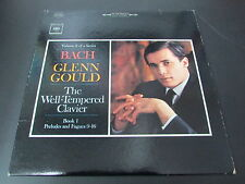 BACH GLENN GOULD   THE WELL-TEMPERED CLAVIER   USA COLUMBIA MS-6538   LP 33T 12""