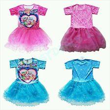 Sparkly Shopkins Tutu Birthday Girl Party Dress shopkins clothes sizes 6-12