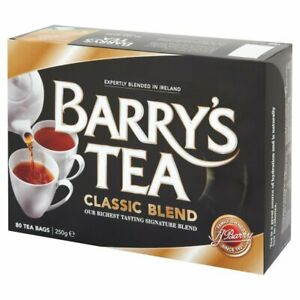 Barry's Tea CLASSIC BLEND 80 TEABAGS (80 CUPS)  - SOLD BY DSDELTA IRE