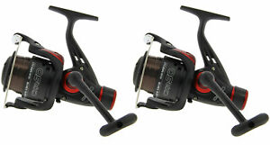2x CKR50 Spinning, Carp, Feeder Reels Pre-Loaded with 8lb Line READY TO FISH