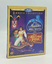 Aladdin: King of Thieves / Return of Jafar (Blu-ray+DVD+Digital, 2016) NEW
