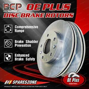 Front Pair Disc Brake Rotors for Mazda CX-7 CX-9 ER TB 07-on BCP Brand