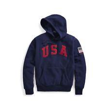 POLO Ralph Lauren USA Fleece Hoodie Pullover sx XL NWT