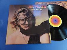 JOE WALSH  SO WHAT ABC A3B2 UK LP Rare Laminated Sleeve