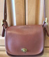 Coach Vintage Brown Leather Legacy Trail Crossbody Shoulder Bag #9965