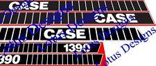 Caso 1390 Trattore BONNETT Adesivi