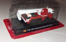 Modell Feuerwehr Camion Grue Liebherr TM 10 40 G3 1990 1:80 Del Prado  157