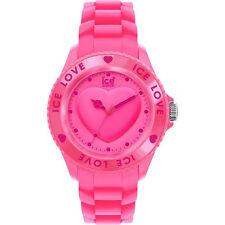 Genuine Pink Ice Love Watch With Swarovski Elements