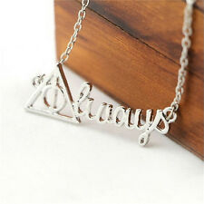 Chain Necklace For Men Women JewelrySp Harry Potter Death Hollow Always Pendant