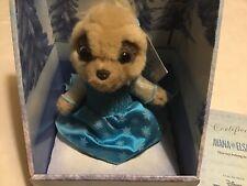 Ayana As Elsa Meerkat From Disney Frozen New Boxed With Certificate