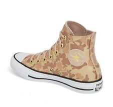 WOMEN'S CONVERSE HIGH TOP CHUCK TAYLOR ALL STAR 562488C - LUREX CAMO 559837F 8 9