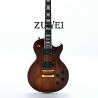 Custom Electric Guitar LP Spalited Maple Grover Tuner 22 Frets 2 Humbuckers