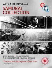 Kurosawa The Samurai Collection Blu-Ray New 2014 Region B