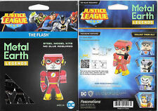 Fascinations Metal Earth Marvel Legends The Flash 3D Laser Cut Model Kit MEM027