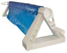 GLI Cyclone In-Ground Swimming Pool Solar Blanket Cover Reel Up To 16' Wide Pool