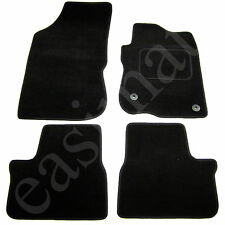 Peugeot 208 2012 onwards Fully Tailored Carpet Car Mats Black 4pc Floor Mat Set