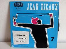 JEAN RIGAUX Histoires a s mordre la joie ! Vol 7 460727
