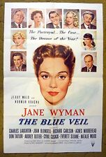 """Jane Wyman in """"The BLUE VEIL"""" doing all she can to save Children - movie poster"""