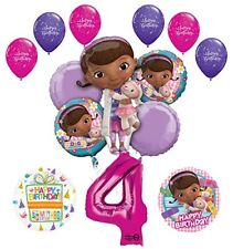 Doc McStuffins 4th Birthday Party Supplies