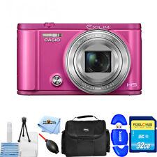 Casio Exilim Ex-zr3600 Vivid Pink SanDisk 32gb Class 4 SD Card Bundle