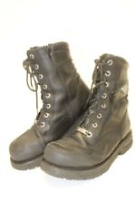 Harley-Davidson Mens 11 44 Riddick 8-Inch Leather Motorcycle Work Boots 98308