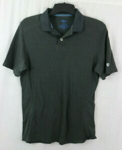 KUHL Men's M Wildfibre Polo Shirt Organic Cotton Shirt