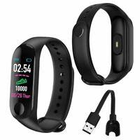 Smart Band Watch Sport Wristband Fitness Tracker Heart Rate Blood Pressure