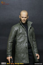 WOLFKING 1/6 Scale WK89014B Jason Statham Head Sculpt&Clothes Accessory Set