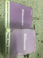 2004 Hyundai Tiburon Service Repair Shop Workshop Manual Set OEM Worn