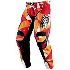 ANSWER SKULL CANDY MOTOCROSS PANTS MEN'S 30 MX RACE PANT SKULLCANDY RED/ORANGE