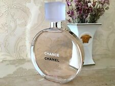 RARE GIANT 2 LITERS GLASS FACTICE CHANEL CHANCE EAU VIVE STORE DISPLAY (NOT PERF