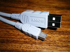 SONY VMC-14UMB2 100% Original Calidad del Reino Unido marca USB cable de plomo Azul/Gris Nuevo