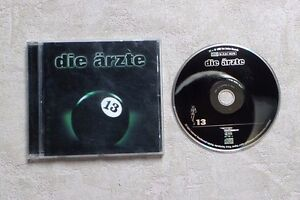 "CD AUDIO MUSIQUE / DIE ÂRZTE ""13"" 17T CD ALBUM 1998 POP ROCK, PUNK"