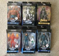 """Marvel Legends 6"""" Fantastic Four Walgreens Set Infamous Doom Thing Silver Surfer"""