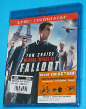 Mission Impossible Fallout - Blu-ray Disc - New Nuovo Sealed