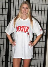 Dexter (Showtime) Promo T Shirt - A Killer New Series - White - Men's large