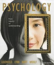 Psychology: From Inquiry to Understanding  (paperback) (2nd Edition), Woolf, Nan