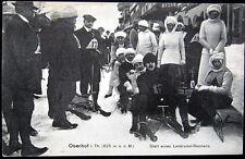 GERMANY~1900's OBERHOF i. TH.~ Start Lenkrodel-Rennen ~ BOB SLEIGH RACE !