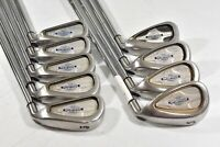Callaway Steelhead X-14 3-PW,SW Iron Set Right Stiff Flex Steel # 81132