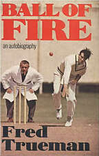 BALL OF FIRE Autobiography by FRED TRUEMAN 1976 1st Ed Cricket