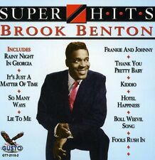 Brook Benton - Super Hits [New CD]