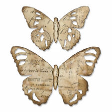 Tim Holtz Sizzix Die ~ TATTERED BUTTERFLY ~ Bigz Alterations ~ 664166