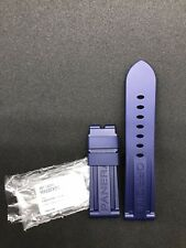 Panerai OEM Rubber Strap 24/22 STD BA Navy Blue MXE07XDG