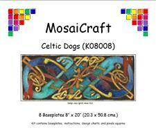 MosaiCraft Pixel Craft Mosaic Art Kit 'Celtic Dogs' Pixelhobby