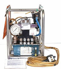 Simplex PAT4542 Pneumatic Hydraulic Torque Wrench Power Pack Pump - bolt tighten
