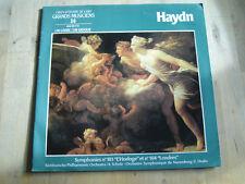 33 tours haydn symphonies n°101 l'horloge et n°104 londres