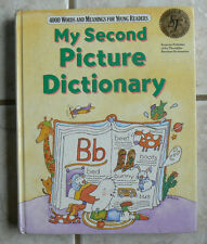 Scott Foresman MY SECOND PICTURE DICTIONARY 4000 words young readers,1990 Nice!